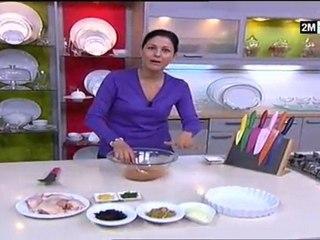 Choumicha - Poulet au four et Coquillettes aux légumes