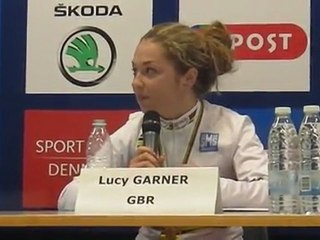 Garner on gold at the World Road Championships