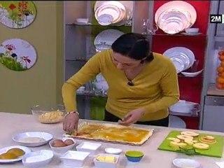 Tarte Briochée aux Pommes et Cake au Coulis