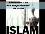 1. Le bon comportement en islam  Introduction générale sur le comportement par Rachid Abou Louqman