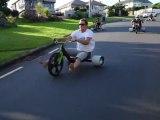 Trike Drifting en Nouvelle-Zélande