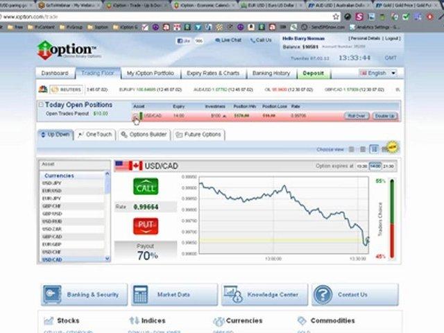 iOption Academy Live Trading