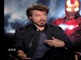 Iron Man 2 - Robert Downey Jr. Aka Tony Stark Talks About The New Guys