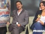 Intervista a Ambra Angiolini e Luca Bizzarri per il film Immaturi - Il viaggio