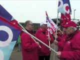 2012-02-29 - OGBL - Rodange, journée d'action européenne contre l'austérité à l'appel de la Confédération Européenne des syndicats (CES)