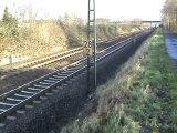 BR146 mit Doppelstockwagen von Köln nach Bonn