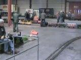 Echtdampftreffen Sinsheim 2009 Die Sieben Zoll  Schmalspur  und Feldbahnhalle Teil 02 Teil 02 von 02