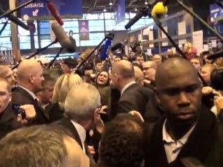 SIA 2012 : Marine le Pen au salon