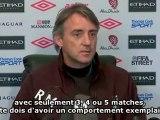 "Mancini : ""Balotelli, le meilleur attaquant italien"""