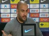 """Deportes/ Fútbol; Barcelona, Guardiola: """"Si no somos líderes no es por culpa de los árbitros"""""""