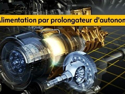 La transmission Voltec de l'Opel Ampera