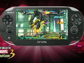 Vita Trailer 2 de Ultimate Marvel vs Capcom 3