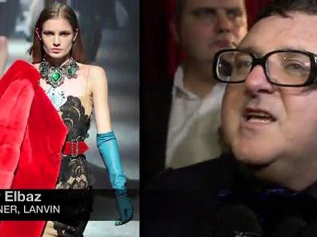 Lanvin Fall 2012 fashion show