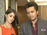 Love Birds Ritesh And Genelia Celebrate Tere Naal Love Ho Gaya's Success – Bollywood Events