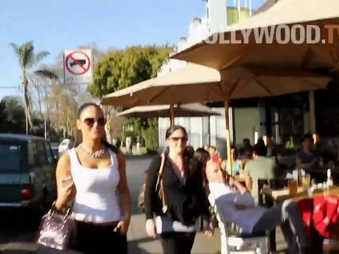 Pia Toscano Lunches at Toast Restaurant