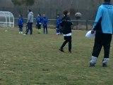 FCLUNEVILLE 3 eme tour coupe régionale U11à Custines séance de jonglage - Arthur -