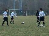 FCLUNEVILLE 3 eme tour coupe régionale U11 à Custines séance de jonglage - Lucas -