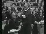 Petite leçon d'Europe par Jean Gabin dans Le président