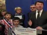 Inauguration de l'exposition «Portrait des 23 Présidents Français»