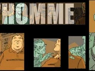 L'Homme qui n'existait pas, Cyril Bonin - éditions Futuropolis, 2012 - Teaser 2