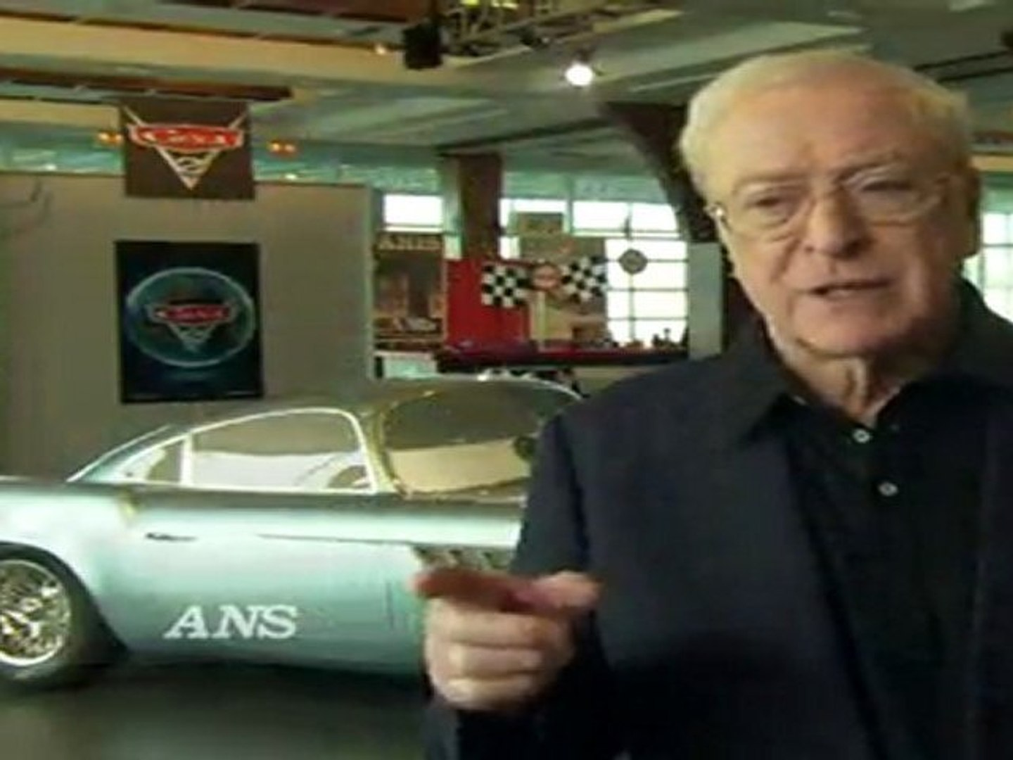 Cars 2 Animation Is Extraordinary Says Michael Caine