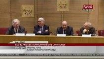 """SEANCE,Colloque des """"20 ans de Communautés de communes"""""""