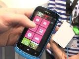 MWC 2012 - Nokia Lumia 610