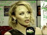 Kylie Minogue -  MTV Interview 2011 Aria Awards Backstage with Molly Meldrum