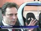 Allemagne: une voiture high-tech au salon Cebit de Hanovre