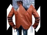 Xman Wolverine (brown) leather jacket- Hugh Jackman