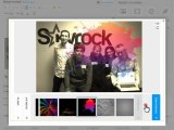 photo editing and filters on Skyrock.com