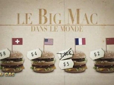 Dr CAC - Pourquoi le Big Mac n'est pas vendu au même prix partout dans le monde ?