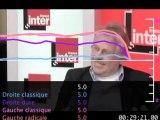 Médiascopie du débat Henri Guaino - Daniel Cohn-Bendit
