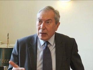 Démocratie territoriale : rencontre avec Jacques Pélissard, Président de l'Association des maires de France (AMF)