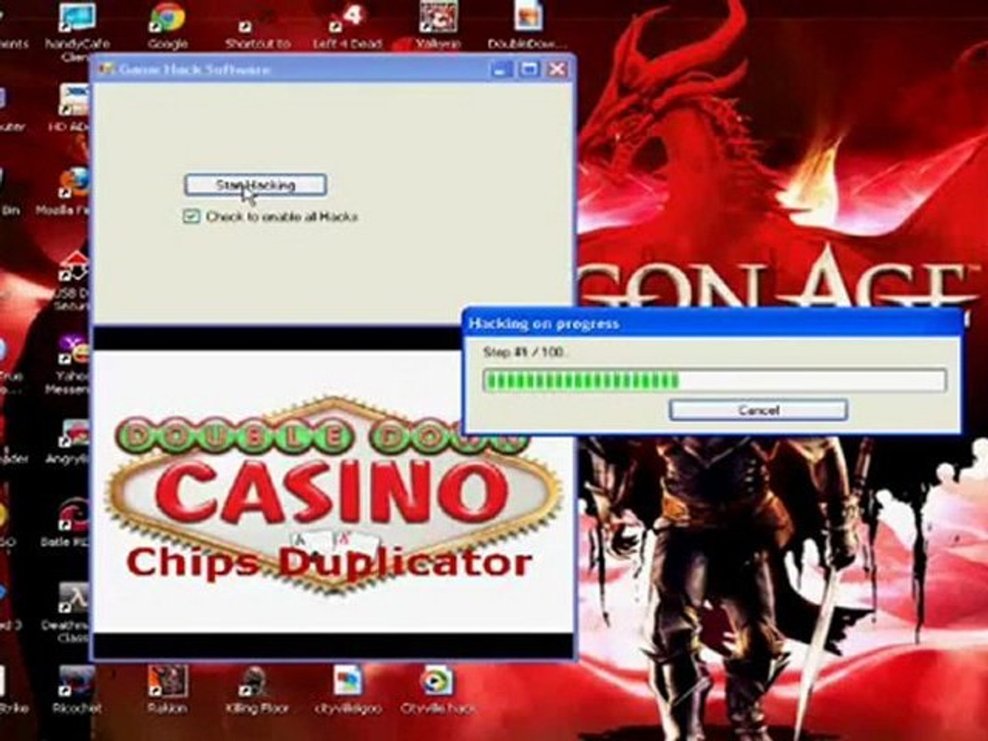 Doubledown Casino Hack n 2016 n 2017 FREE Download n Télécharger