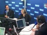 Hollande critique Sarkozy sur l'immigration