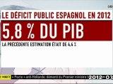 Nouvelles sanctions des euro-banksters ( Sarkozy Merkel ..)  contre le peuple espagnol