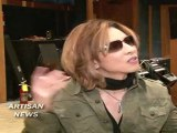 X Japan Yoshiki Earns 11 Million Yen For Japan Disaster Relief