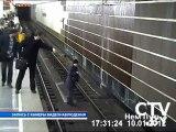 Elle se suicide sur les rails du métro mais...