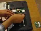 RAM Memory Upgrade of Dell Inspiron 1545 Laptop Computer, How to install Dell Inspiron 1545 RAM Memory Upgrade