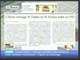 A propos de l'échange entre Sarkozy et Fabius sur DSK