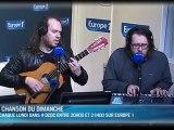 """""""Peuple de l'Argent"""" à la radio, Europe 1, """"Des clics et des claques"""" (La Chanson du Dimanche)"""
