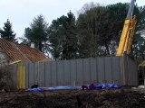 Assemblage des murs ossature bois- BioClimatique Construction