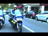 Les motards de la Gendarmerie Nationale