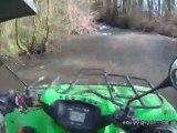 passage en riviere quad kvf 650