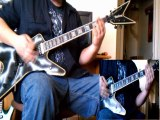Michael Jackson - Beat It heavy metal/thrash metal guitar cover by Kenny Giron (kG)