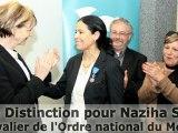 Une Distinction pour Naziha Safti - Chevalier de l'Ordre national du Mérite à La Seyne sur Mer