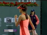 Indian Wells - Ivanovic sort Wozniacki