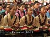 Manifestation d'exilés tibétains en Inde - no comment