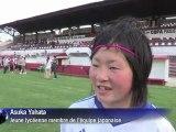 Brésil : un match de foot féminin pour les orphelins du tsunami